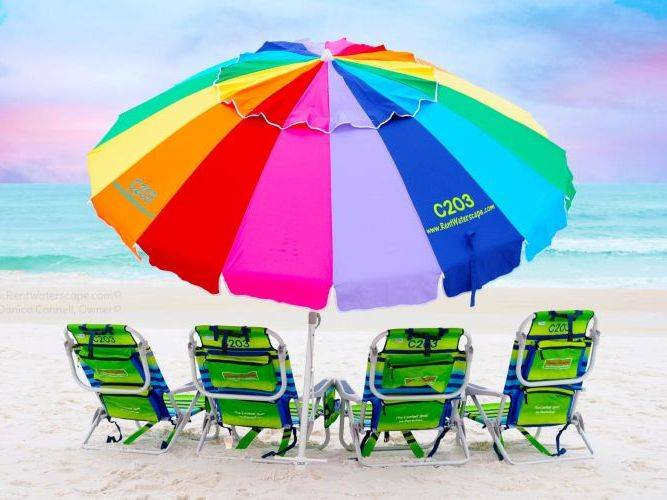 Beach Umbrella Destin Florida